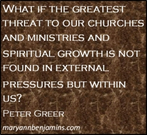 Peter Greer Quote